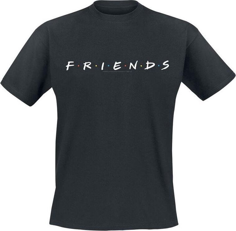Футболка Licenced Friends Logo T-Shirt Black L