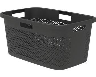 Корзина для белья Curver Terrazzo Laundry Basket 47l Black