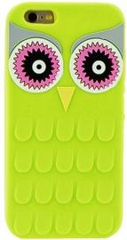 Zooky Soft 3D Back Case For Samsung Galaxy J1 J120F Owl Green
