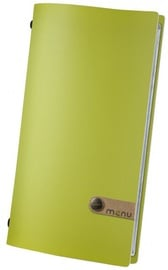 Dag Style Fashion Menu Holder 15.5 x 29cm Green
