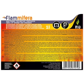 Bioetanols Bio kamīniem 1L apelsīnu un kanēļa smarža