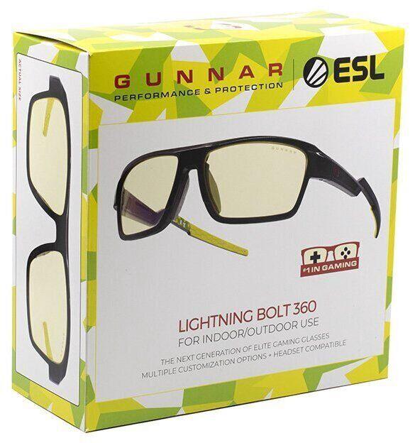 Gunnar Lightning Bolt 360 ESL Edition