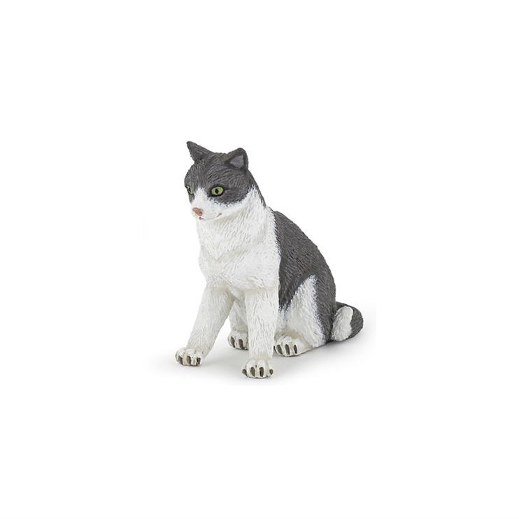 Dzīvnieku figūra Papo Cat Sitting Down 54033