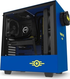 NZXT H500 Vault Boy Special Edition ATX Mid-Tower Blue