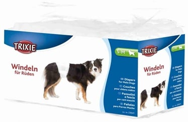 Trixie 23641 Dog Nappies S-M 30-46cm Pack 12pcs