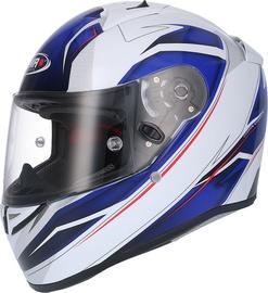 Shiro Helmet SH-336 Crown White Blue L