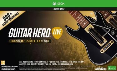 Guitar Hero: Live Bundle Supreme Party Edition Xbox One
