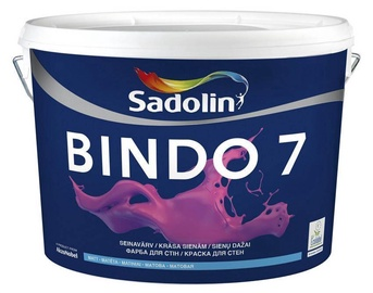 Dažai Sadolin Bindo 7 W0/BW, balti, 10 l