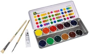 Akvarelė metalinėje dėžutėje Jolly 12 spalvų