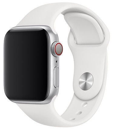 Apple 40mm Watch Band S/M & M/L White Sport Band