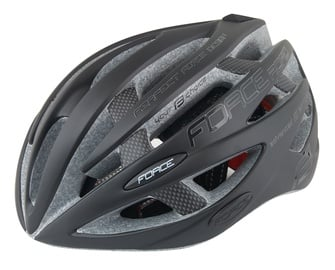 Шлем Force Road, черный, S/M, 540 - 580 мм