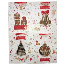 Popierinis dovanų maišelis 18x8x24cm