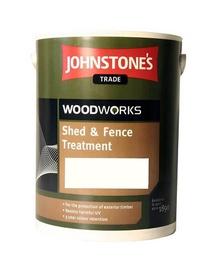 Impregnantas Johnstone's Shed and Fence, šviesiai ruda, 5 l