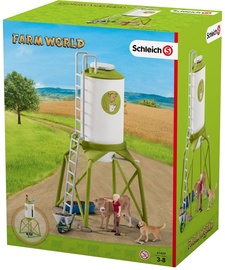 Schleich Feed Silo With Animals 41429