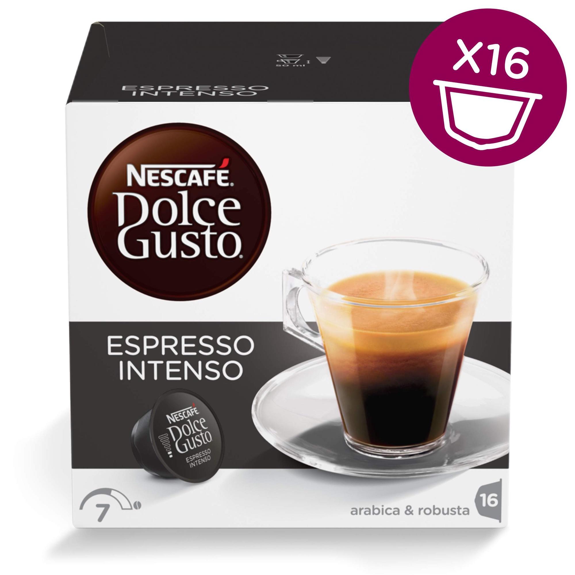 8f3d8ee43bc Nescafe Dolce Gusto Espresso Intenso 16 Capsules - Krauta.ee