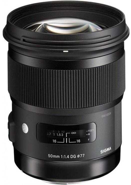 Objektyvas Sigma AF 50mm f/1.4 DG HSM Art for Canon