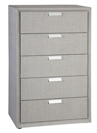 Home4you Caren Chest of Drawers Gray