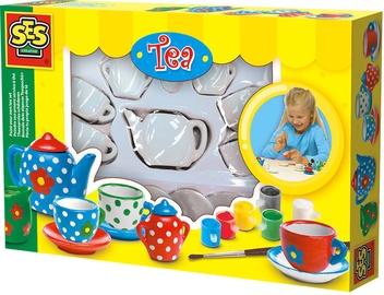 SES Creative Paint Your Own Tea Set 14976
