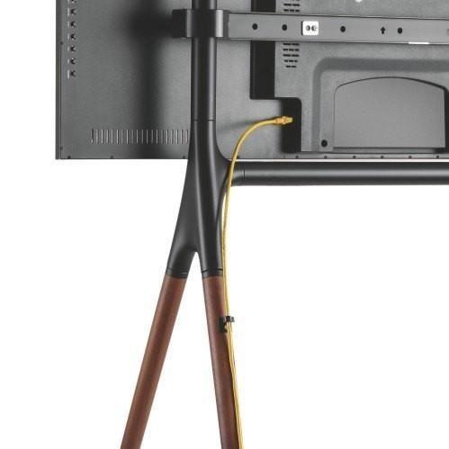Techly Floor TV Stand 49-70'' Black/Brown