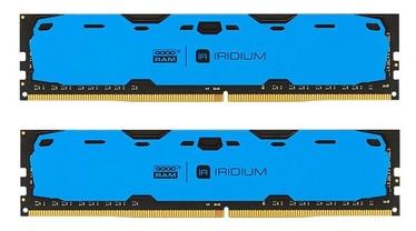 Operatīvā atmiņa (RAM) Goodram IRIDIUM Blue IR-B2400D464L15S/16GDC DDR4 16 GB