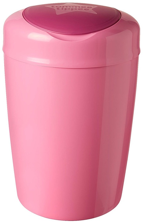 Tommee Tippee Simplee Sangenic Nappy Disposal Bin Pink