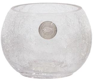 Home4you Vase Bowl Crack D12.5xH10cm Glass