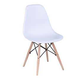 Valgomojo kėdė Rico V1, balta