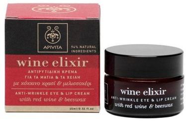 Apivita Wine Elixir Eye and Lip Cream 15ml