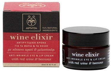 Apivita Wine Elixir Eye and Lip Cream 15ml