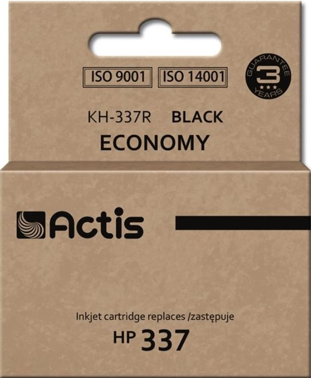 Кассета для принтера Actis Cartridge KH-337R For HP 15ml Black