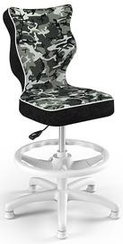 Детский стул Entelo Petit HC+F Size 4 Black Camo, 370x350x950 мм
