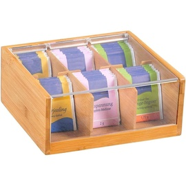 Kesper Bamboo Teabox 6 Compartments 58903