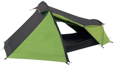 Trīsvietīga telts Coleman Batur, melna/zaļa