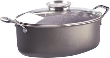 Pensofal Oval Casserole Saucepan With Inox Side Handles/Glass Lid 5521