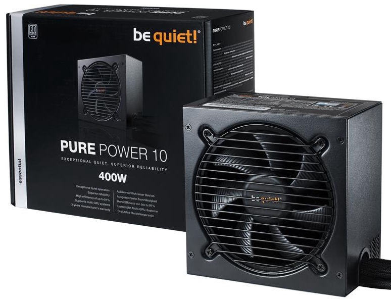 Be Quiet Pure Power 10 80Plus Silver 400W