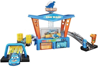 Mattel Disney Pixar Cars Color Change Dinoco Car Wash Playset GTK91