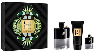 Carolina Herrera CH Men Prive 100ml EDT + 100ml After Shave Balm + 10ml EDT