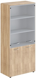 Skyland Office Cabinet With Lock DHC 85.2 Sonoma Oak 892х470х1950