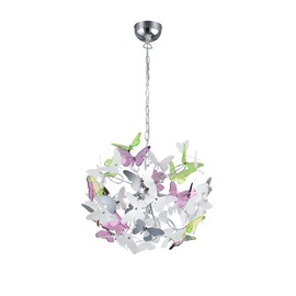Trio Reality Ceiling Lamp Butterfly R30214017 4x28W