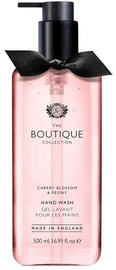 The English Bathing Company Boutique Hand Wash 500ml Cherry Blossom & Peony