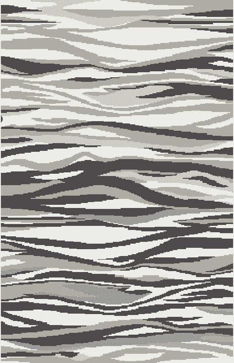 Ковер Carter 2139-W OG5, серый/многоцветный, 235x160 см