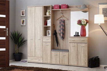 ASM Armario IV w/ Pillow Hallway Wall Unit Set Sonoma Oak