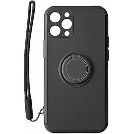 Чехол Mocco Pastel Ring For Xiaomi Redmi Note 9T, черный
