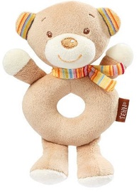 BabyFehn Soft Ring Rattle Teddy 160949