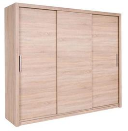 Maridex Mistral 250 Wardrobe Sonoma Oak