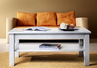 Kafijas galdiņš ASM Uni, balta, 1100x600x450 mm