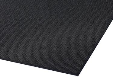 Ковер, черный, 200x80 см
