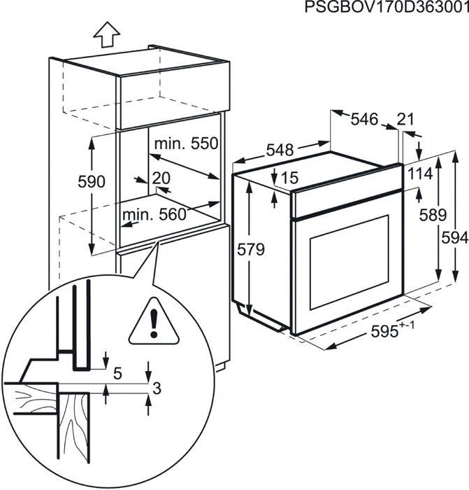 Electrolux EOG2102AOX