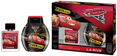 La Rive Disney Cars 50ml EDT + 250ml Bath Gel & Shampoo 2 in 1
