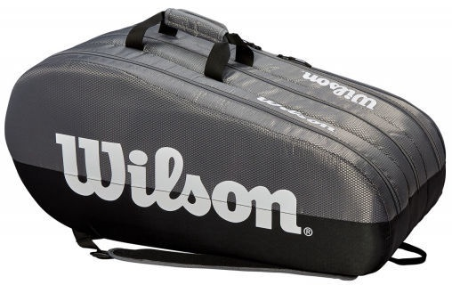 Wilson Team 3 Compartment Bag Black/Grey